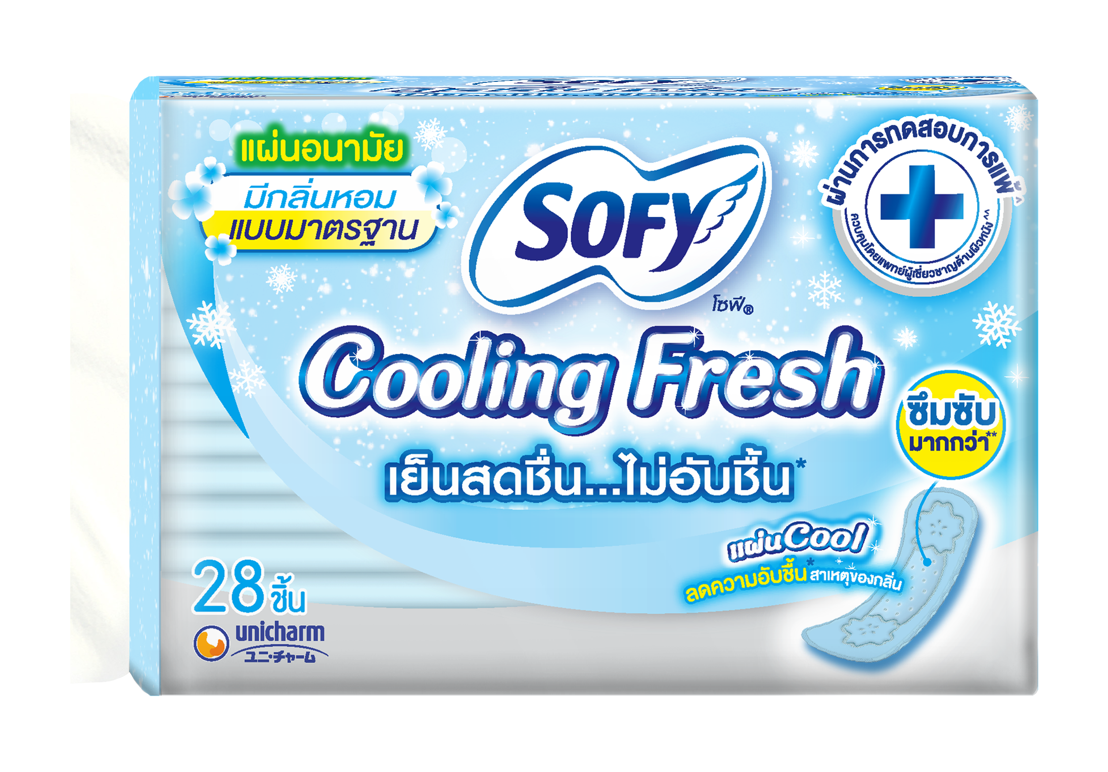 Sofy Panty liner Cooling Fresh Regular
